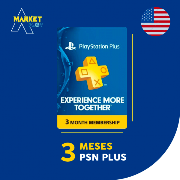 Playstation plus 3 meses Bolivia