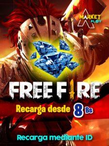 recargas free fire bolivia